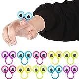Toys : Shindel Eye Finger Puppets, Googly Eyes Rings Eyeball Ring Eye Monster Finger for Kids Party Favor Easter Toys, 25 PCS