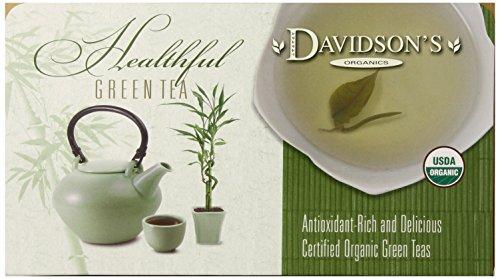 Davidson's Tea Single Serve Imperial Green, 100-Count Tea Bags