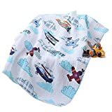 House Airplane Plane Quilt Baby and Toddler Quilt Bedspread Boys Girls Kid's Quilt 43' X 51'