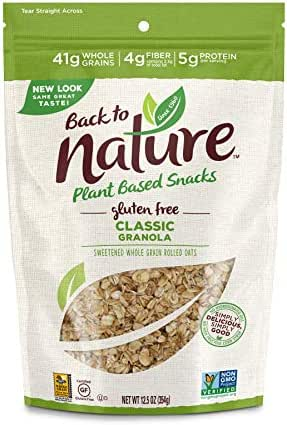 Granola & Muesli: Back to Nature Granola