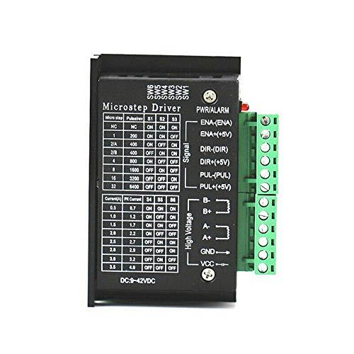 86 Nema 57 4A TB6600 Stepper Motor Driver Controller 9~42V DC Single Axes 2 or 4 Phase of Stepper Moto 42