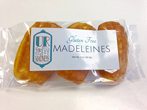 Gluten free Lemon Zested Madeleines (4 Packs Of 3)