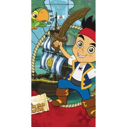 Disney Jake & The Neverland Pirates Party Table Cover - 1 per Pack by SmileMakers Inc [Toys & -