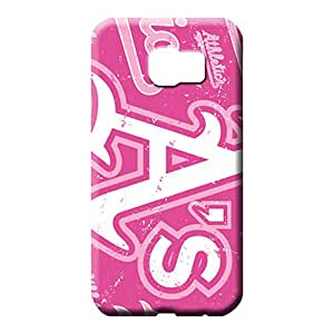 samsung galaxy s6 edge Highquality Scratch-proof High Quality mobile phone carrying shells oakland athletics mlb baseball