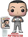 Funko Pop! Pee-Wee's Playhouse - Pee-Wee Herman Vinyl Figure (Bundled with Pop Box Protector Case)