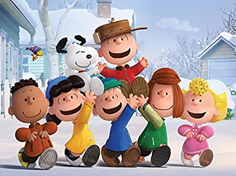 400 Piece by Ceaco The Family Puzzle Ceaco Peanuts Movie