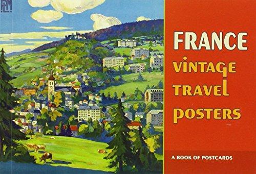 Poster Auction Vintage - France: Vintage Travel Posters Book of Postcards