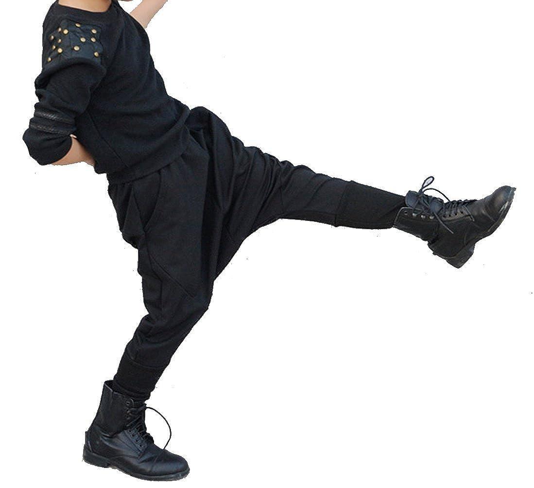 Boys Hip-Hop Drop-Crotch Baggy Pants