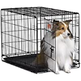MidWest 1530 iCrate Single-Door Pet Crate 30-By-19-By-21-Inch