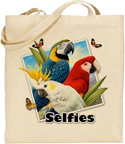 Parrots - Reutilizable - Ecológica - Bolsa de algodón ideal para ...