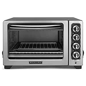 """KitchenAid (CERTIFIED REFURBISHED) 12"""" Convection Countertop Oven Silver RKCO234CU"""