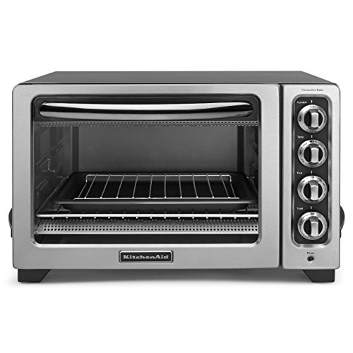 KitchenAid (CERTIFIED REFURBISHED) 12″ Convection Countertop Oven Silver RKCO234CU
