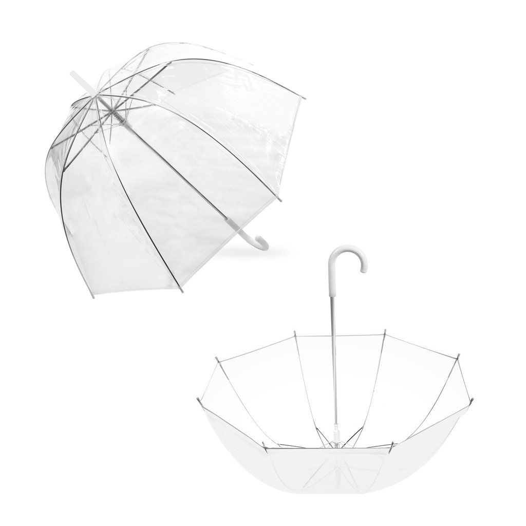 Bubble Transparent Umbrella Dome Romantic Clear Color Origami Dinosaurs Diagrams Embroidery For Rain By Outdew Clothing