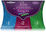 Health & Personal Care : Poise Impressa Incontinence Bladder Supports Sizing Kit, Sizes 1,2,3 (6 count)
