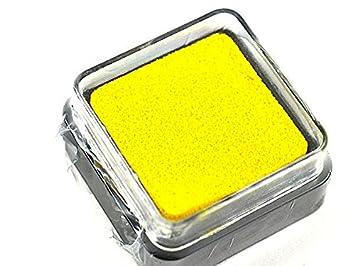 sello cojín sellos, Document carta 3 * 3 CM colores - sello ...