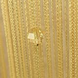 Best Norbi Curtains For Living Rooms - Norbi Colorful One Bead String Line Curtain Window Review