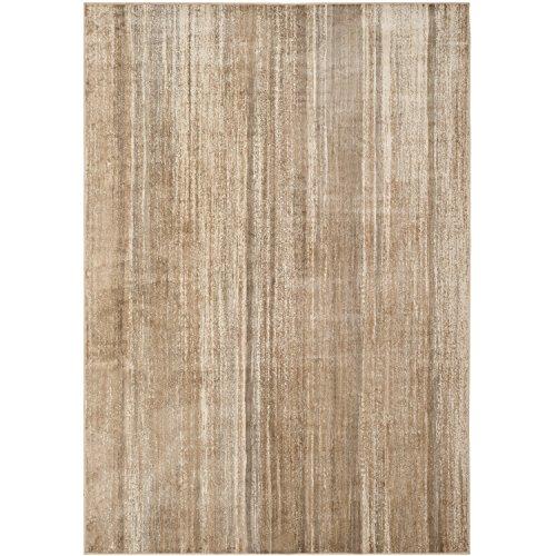 (Safavieh Vintage Premium Collection VTG172-3550 Sleek Modern Stripes Caramel Distressed Silky Viscose Area Rug (8' x 11'2