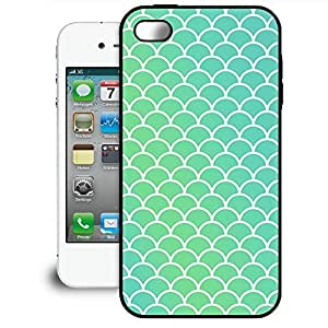 Bumper Phone Case For Apple iPhone 4/4S - Mermaid Tail Rubber Premium