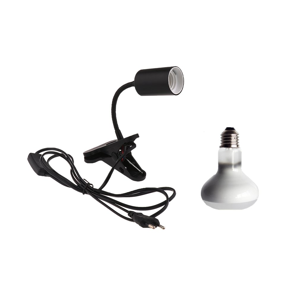 Sharplace E27 Reptile Amphibian Lampe Infrarouge Lumière Chauffant 25W Prise EU