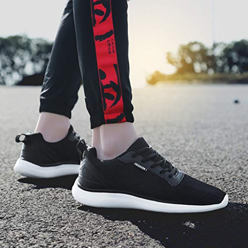 Scarpe up Ragazzo Casual Vintage Sport Rete Lace Breathable Running Ihengh Pu Francesina 2019 Scarpa Respirante Nero Ginnastica Men Outdoor Uomo Pantofola Estate Sneakers Moda Shoes BfORX