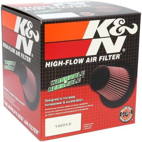 4-3//8T Universal Air Filters 7H 6-1//2B RU-2800 K/&N Universal Clamp-On Air Filter 5FLG