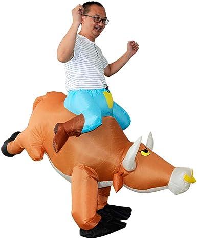 SIREN SUE Disfraz de Toro Inflable Cosplay, Halloween, Animales ...
