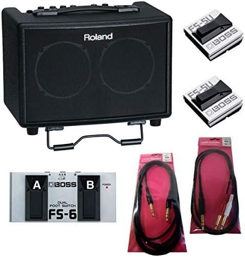 Roland/AC-33 Acoustic Chorus 【BOSS FS-6/FS-5Uつき!】【スタンダードセット】【アコースティックギター用アンプ/電池駆動可能】【15W+15W ステレオ仕様】 ローランド アコギアンプ