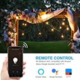 RUNACC Outdoor Dimmer Smart Plug for LED String
