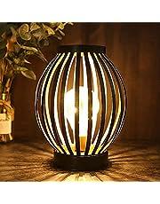Metallbur LED-bordslampa batteridriven