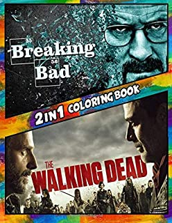 The Walking Dead Coloring Book Amazon Co Uk Insight Editions