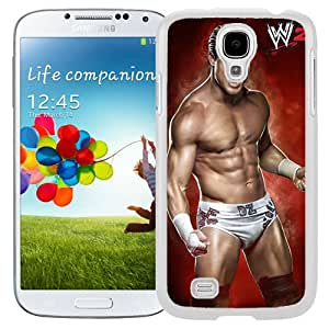 Customized Samsung Galaxy S4 I9500 Cell Phone Case Wwe Superstars Collection Wwe 2k15 Dolph Ziggler in White Phone Case For Samsung Galaxy S4 Case