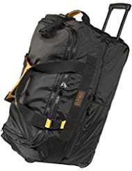 A. Saks 25 Expandable Rolling Trolley Duffel