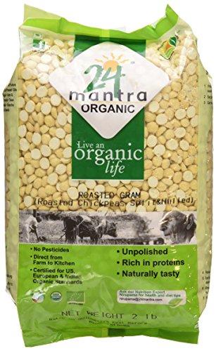 Organic Roasted Bengal gram (Dhaliya)