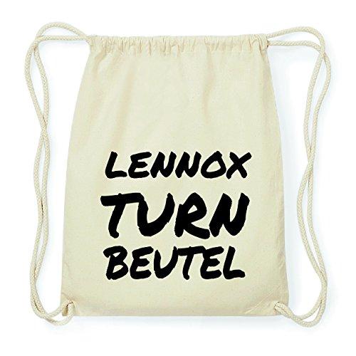 JOllify LENNOX Hipster Turnbeutel Tasche Rucksack aus Baumwolle - Farbe: natur Design: Turnbeutel fr46wx