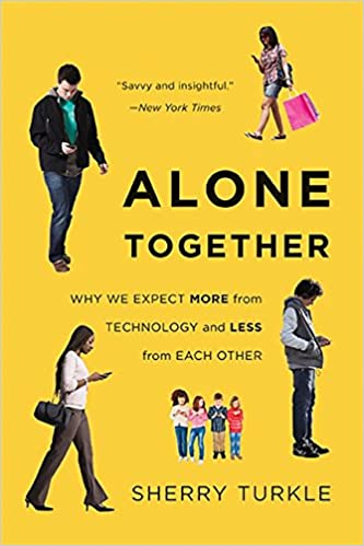 Image result for alone together sherry turkle
