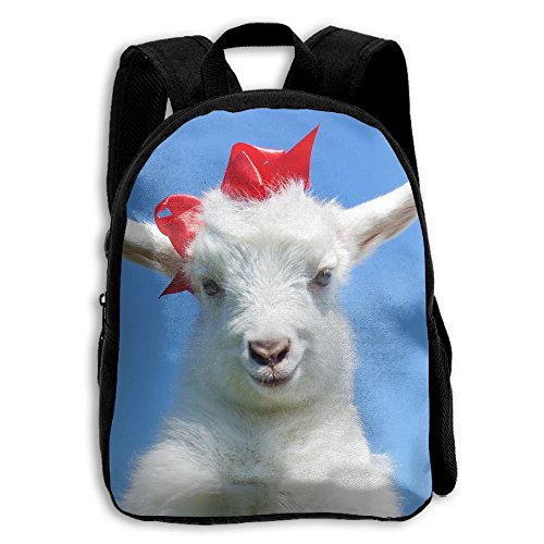 (Animals Baby Goat Casual Funny Backpack School Bag Boys & Girls School Book Bag )