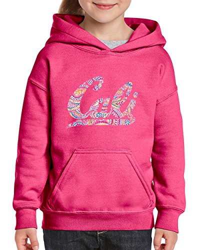 NIB California Hoodie Cali Pink Paisley Youth Hoodies Sweater - Party Youth Sweatshirt