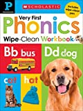 #7: Wipe Clean Workbook: Pre-K My Very First Phonics (Scholastic Early Learners)