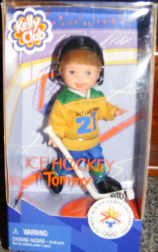 (Barbie- Kelly Club Doll Ice Hockey Tommy 1997 Winter Olymic Games Salt Lake)