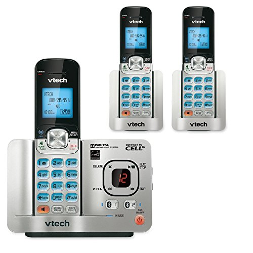 VTech DS6522-32 DECT 6.0 1-Handset Connect to Cell Answering System