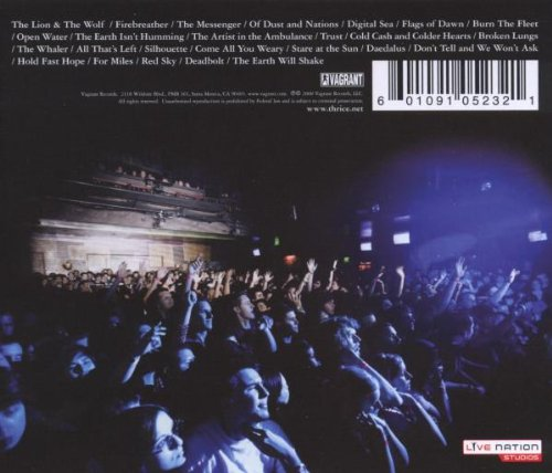Live At The House Of Blues [2 CD/1 DVD Combo] by Vagrant