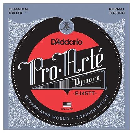 DAddario EJ45TT - Juego de cuerdas clásica