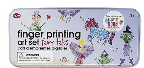 - NPW USA Fingerprinting Art Set in Tin Fairy Arts and Crafts Kit