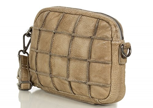 Shoulder Cm Beige Quadratsch 21 Fredsbruder Leather Bag delchen 4qEwYwF