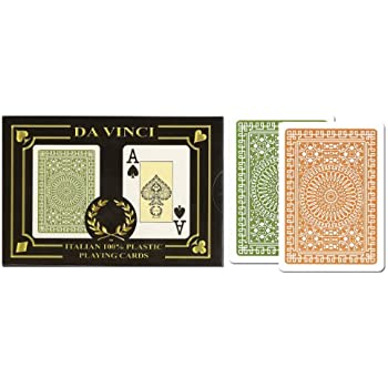 Da Vinci Club Casino Italian 100 Plastic Playing Cards