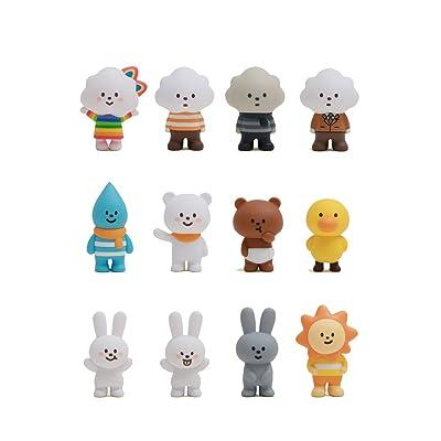 Fluffy House Mr. White Cloud Mini Series 1: Toys & Games