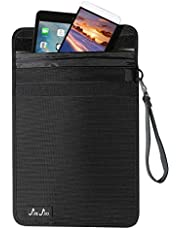 JXE JXO Faraday Bag, Shield Laptop iPads- Device for Law Enforcement, Military, Executive Privacy, EMP Protection, Travel & Data Security, Anti-Hacking, Tracking