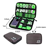 Travel Gadget Bag For USB Cable, SD Card, Hard Drive, Power Bank, Digital Camera Gadget Gear Storage
