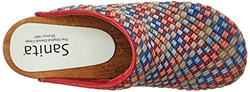 Sanita Debra Open, Zuecos para Mujer Multicolor (Multi)