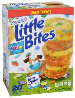 Entenmanns Little Bites Muffins 20 Pouches80 Muffins Bonus 1